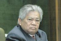 Deputado estadual Akira Otsubo (PMDB), participa de audiência em MT