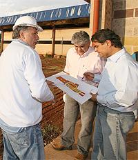 Segundo o engenheiro do projeto, Jorge Had, só no último dia 23 a empresa conseguiu obter todos os l