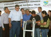 Carlos Marun participa de assinatura de contrato de 250 casas.