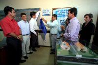 A entrega do selo de qualidade foi feita pelo presidente da empresa Águas Guariroba, Julio Moreira