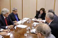 Com a sinalização positiva da ministra, Puccinelli afirmou que Mato Grosso do Sul está unido – com s