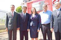 Deputado Paulo Correa, prefeito Nelson Trad, Carmem Pereira, André Puccinelli e o empresário Jorge Q