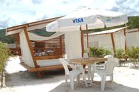 Espaço VIP no Rio Quente Resorts para quem quer relaxar e aproveitar a praia com tranquilidade e mor