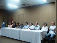 Mesa de Autoridades - Rosana Mara Giordano de Barros, Welington Moreira Mello, Ana Lúcia, Eugênio, S