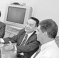 A Comissão dos advogados Trabalhistas da OAB em visita ao vice-presidente do TRT