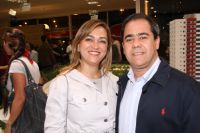 Helen Castro Siufi e Toninho Siufi