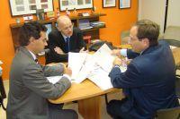 Deputado Trad recebeu em seu gabinete a visita de representantes da Câmara de Comércio Italiana de S