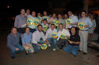 Time da Chapa liderada por Ary Raghiant mobilizado para campanha que deve se estender até as véspera
