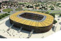 Maquete mostra como ficará o Morenão após a reforma para a Copa