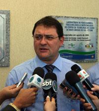 O presidente da Fiems, Sérgio Longen, que reforça o movimento empresarial contra a PEC