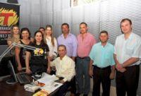 Equipe do progrma Transalegria em Fátima do Sul