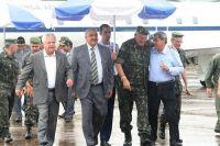 O ministro veio à Capital para avaliar a Operação Laguna