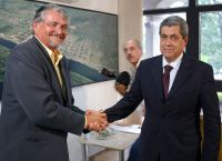 Zeca e André: palanques diferentes para Dilma em MS
