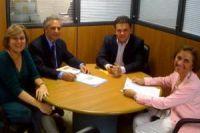 O diretor da AGETRAN, Rudel Trindade Junior, que acompanhou o deputado Vander Loubet no ministério d