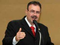 O presidente da Casa de Leis- vereador Paulo Siufi (PMDB)