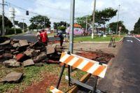 Rua Antonio Teodorowick recebeu obras para alterar acesso