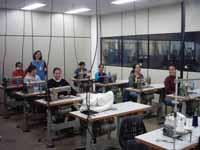 Inscrições para curso de costura industrial, as aulas visam capacitar o aluno a tornar-se um profiss