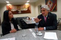 Solange Vieira se comprometeu a estudar pedidos apresentados por Delcídio