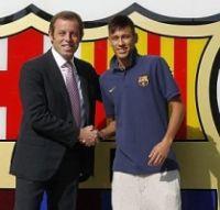Rosell e Neymar