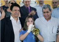 Calheiros, musicista e Puccinelli