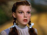 Judy Garland em 'O mágico de Oz' (1939)