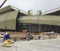 Estádio está com obras atrasadas