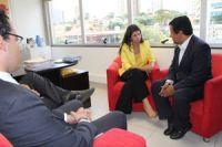 Reunião de Paula e Cruz antes da decisão