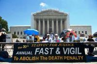 Protesto contra pena de morte