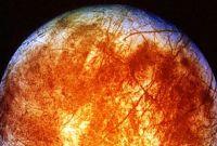 Lua de Júpiter chamada Europa