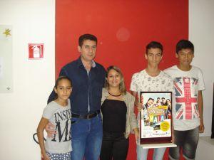 O vencedor de Goiânia está impressionado com a premiação.