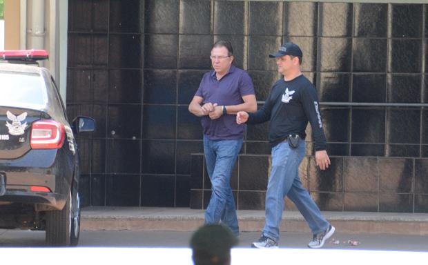 Giroto estava preso na delegacia do Grupo Armado de Resgate e Repressão a Assaltos e Sequestros (Garras).
