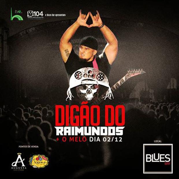 """É a primeira vez que Digão e O Melo tocam juntos e se apresentam de forma """"solo"""". O repertório da festa vai de clássicos do Rock a baladas do Pop, nacionais e internacionais."""