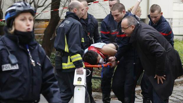 O ataques ocorreram em seis pontos da capital francesa..