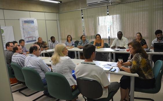 Reunião promovida pela Subsecretaria de Políticas Públicas para a Promoção da Igualdade Racial e Cidadania