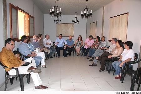 Reunião desta manhã na Casa do Pantanal
