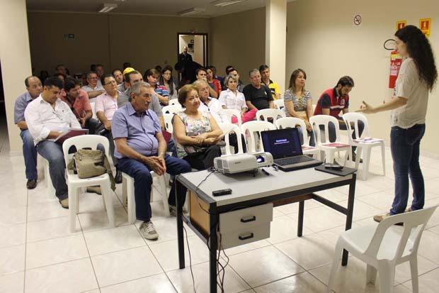 Palestra da procuradora da República Damaris Baggio teve a inteiração do público presente