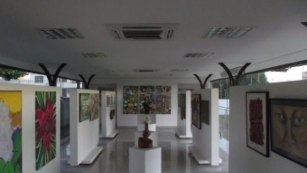 Área interna da Galeria de Vidro