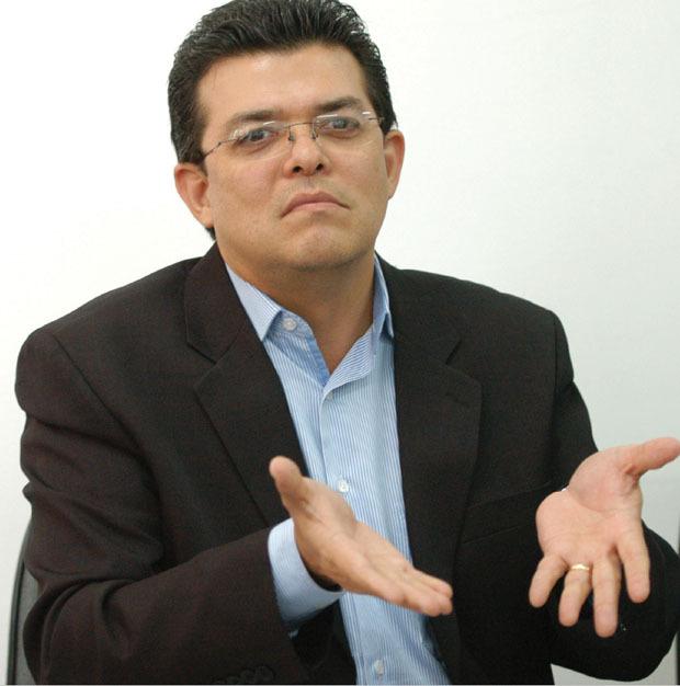 Gilmar Olarte se ausentou da audiência a pedido de seu advogado de defesa.