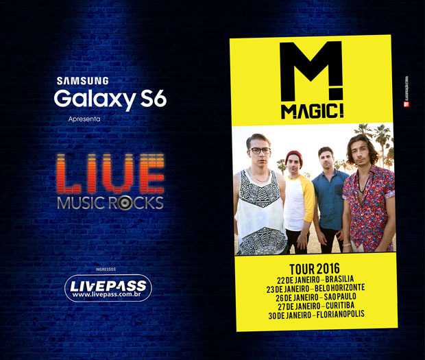 Samsung Galaxy S6 Live Music Rocks – Magic!
