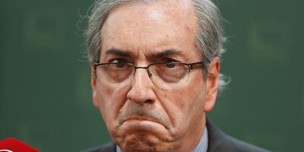 Eduardo Cunha disse que parlamentares tentam causar a ele 'constrangimento'.