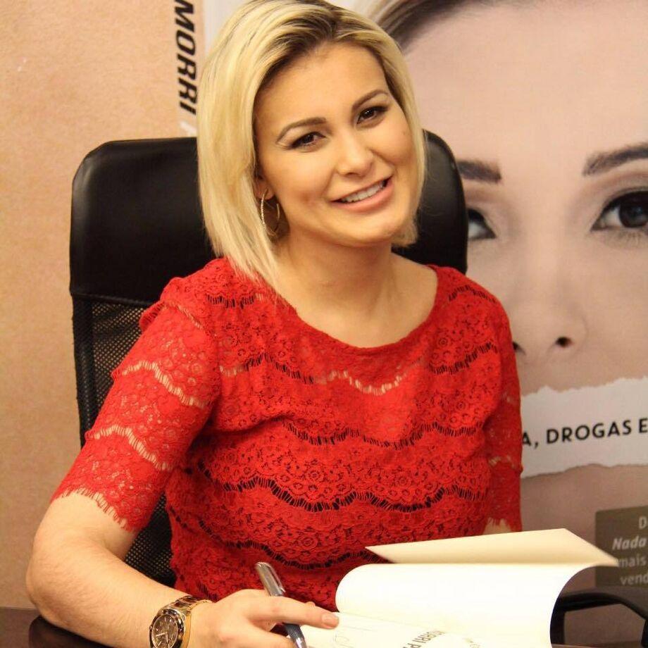 A ex-modelo Andressa Urach