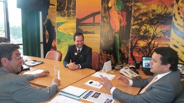Cintra aproveitou o encontro para solicitar ao parlamentar que destine recursos de emendas da União de 2016 para investimentos no setor de turismo sul-mato-grossense