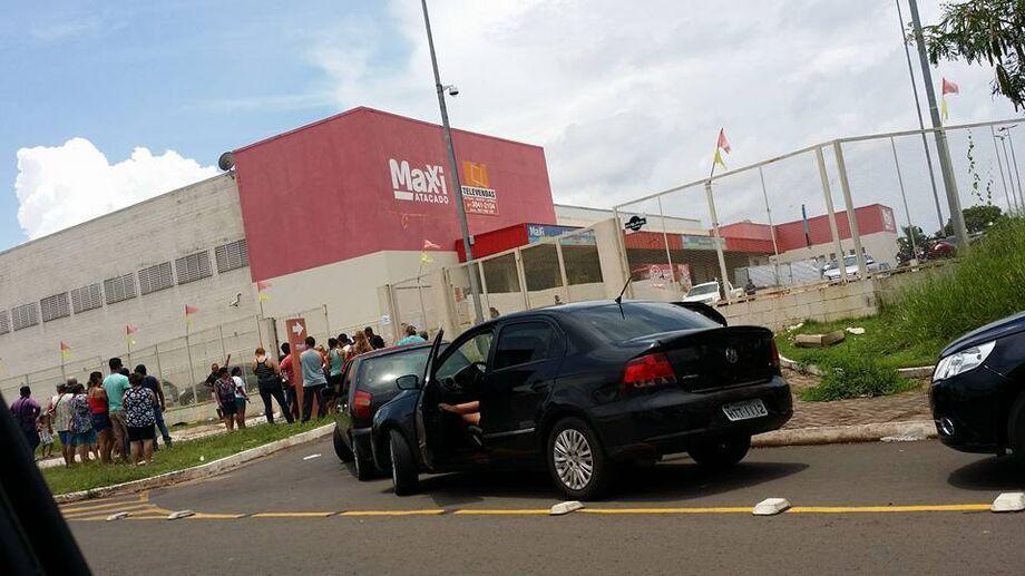Duas lojas Maxxi fecharam as portas na terça-feira