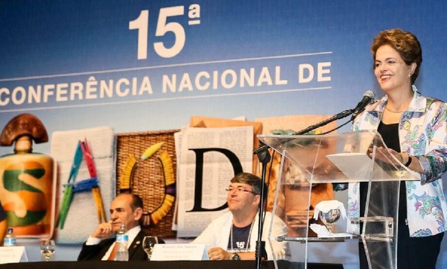 Nós vamos usar de todos os elementos, desde a prevenção até o uso de tecnologia para procurar vacinas que sejam comercializáveis, disse Dilma