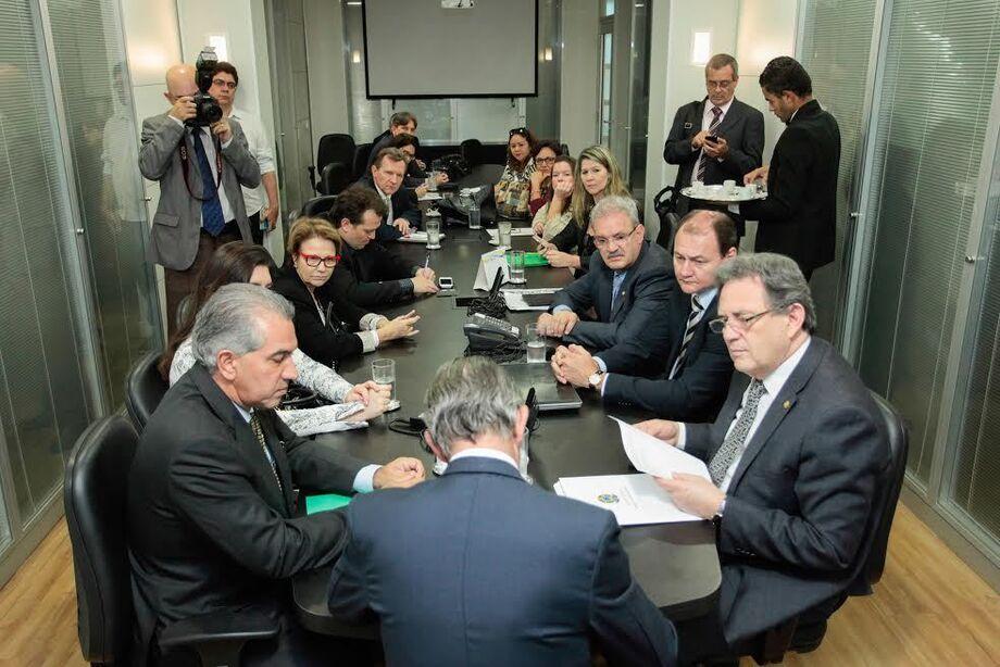 Reunião em Brasília com Defesa Civil