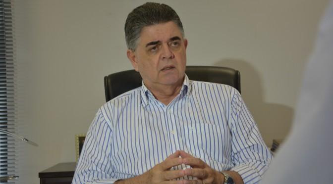 Secretário de Fazenda Márcio Monteiro
