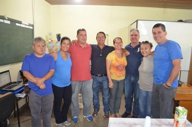 Equipe da Funesp deseja sucesso ao professor