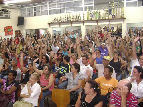 Assembleia funcionalismo municipal será na segunda