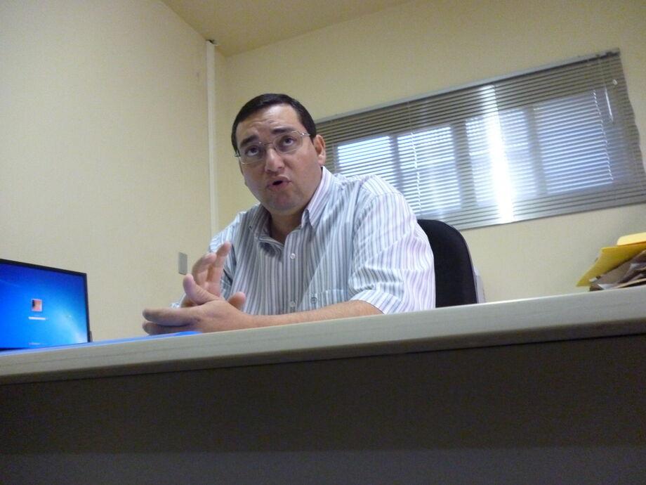 Gilson da Silva Sá, presidente do Sinpospet