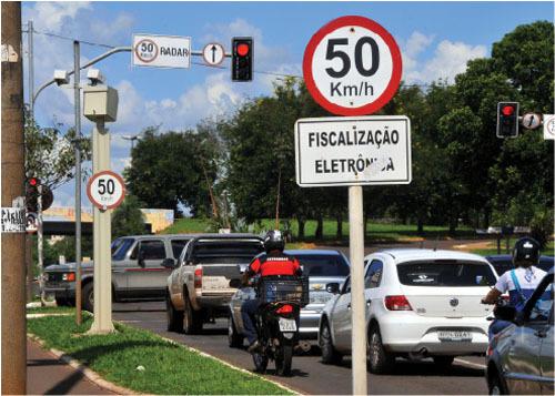 A relação de multas foram cadastradas entre 21 e 31 de dezembro em Campo Grande.